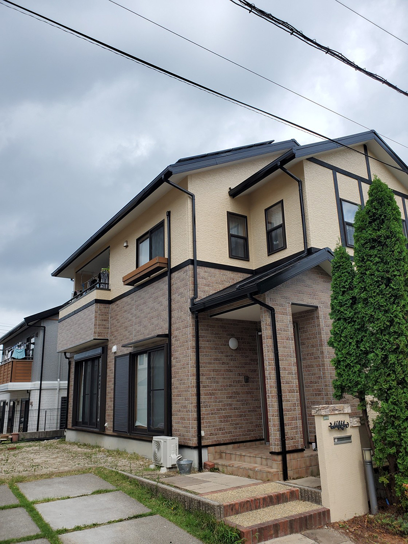 A様邸無機質塗料外壁塗装工事(郷原)