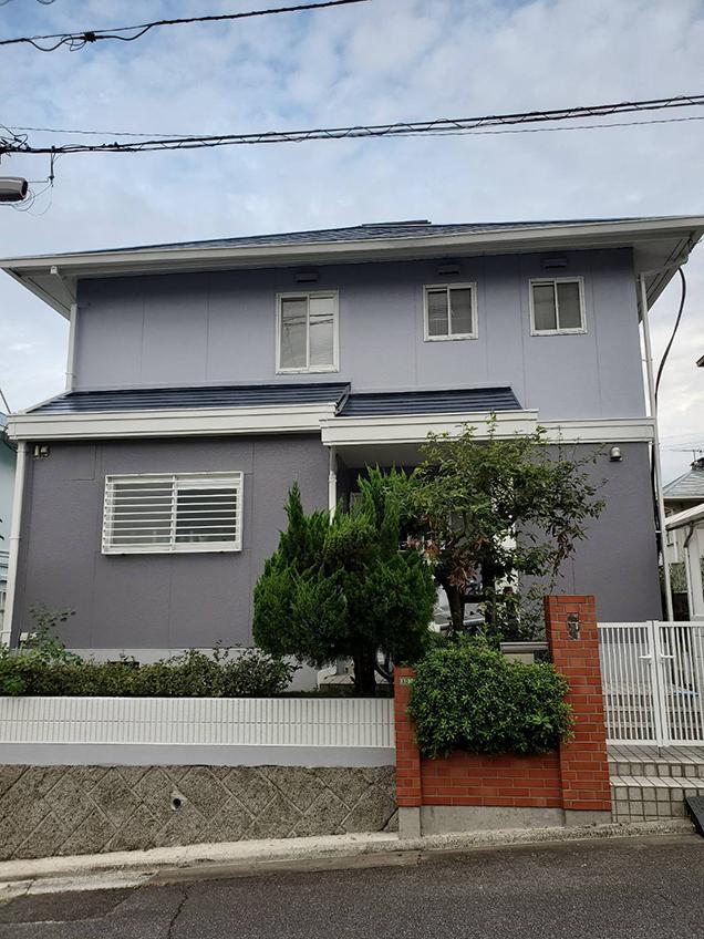 M様邸・無機質塗料外壁塗装工事(五日市)