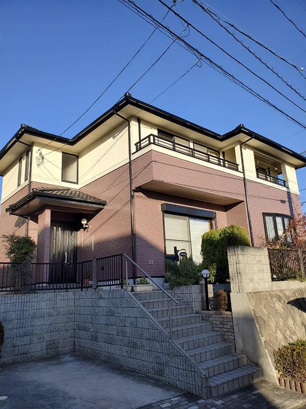 Y様邸・無機質塗料外壁塗装工事(高屋)
